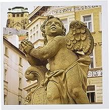 3dRose Cherub statue, Prague, Czech Republic - EU06 THA0043 - Tom Haseltine - Greeting Cards, 6 x 6 inches, set of 6 (gc_81265_1)
