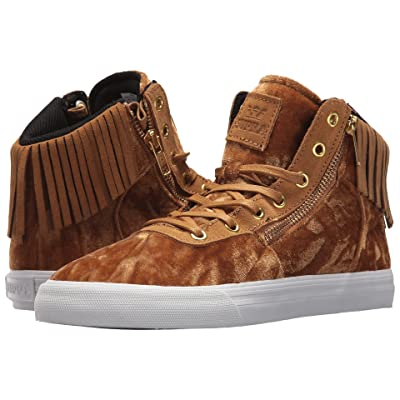 Supra Cuttler (Tan/Dark Gold/White) Women