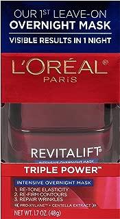 L'Oréal Paris Revitalift Triple Power Intensive Overnight Mask, 1.7 oz.