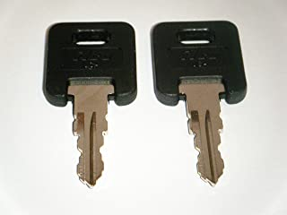 G391 KEYS GLOBAL LINK RVs Motorhome Trailer Keys Cut To Key/Lock Number G391 on Black Top KEYS FOR GLOBAL LINK LOCK Replac...