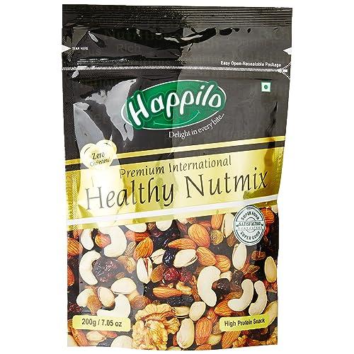 HappiloPremium International Healthy Nutmix, 200g (Pack of 2)