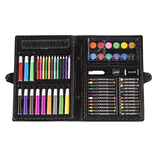 Darice 68 Piece Art Set Supplies For Drawing Painting And More In