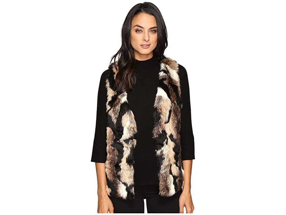 Tart Jamie Vest (Black/Brown) Women