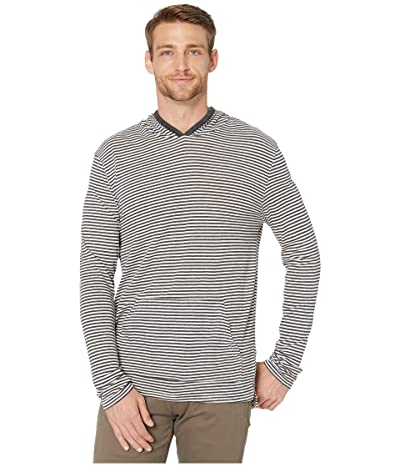 Alternative Marathon Pullover Hoodie (Eco Black Classic Stripe) Men