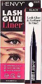 i-ENVY Lash Glue Liner 0.7mL (0.02 US fl. Oz) – Lash Glue & Eyeliner in One (Black)