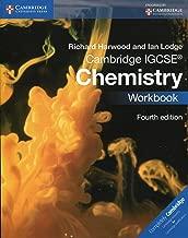 Cambridge IGCSE Chemistry Workbook Fourth Edition by Richard Harwood - Paperback