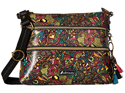 Sakroots Artist Circle Basic Crossbody (Rainbow Spirit Desert) Cross Body Handbags