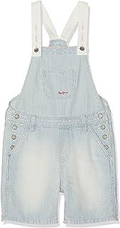 Pepe Jeans Pitch Hickory Pantalones de Peto para Niñas