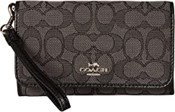 COACH Signature Phone Clutch