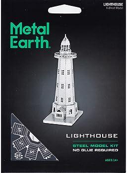 Fascinations Metal Earth Lighthouse 3D Metal Model Kit