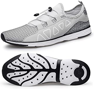 Men's Water Shoes - Quick Drying Outdoor Lightweight Sports Aqua Shoes
