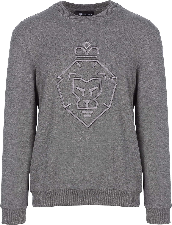 Luis Ziegler Lion grau Sweatshirt