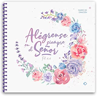 PEZ DE PAPEL Diario de oración para Lectio Divina, Alégrense, 45 hojas beige, 21.5 cm x 21.5 cm, acabado mate
