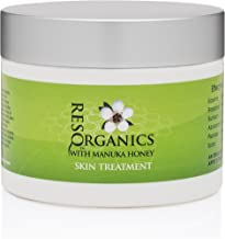All in One Intense Anti-Aging Face and Body Moisturizer 8oz - Nourish and Repair - with Organic Aloe Vera, Manuka Honey, Hemp Oil- For Eczema, Psoriasis, Shingles, Rosacea, and Damaged Skin