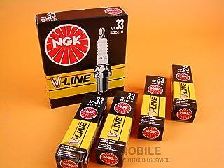 4x NGK Zündkerze V LINE 33 BKR5E 11