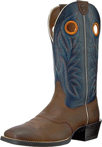 ARIAT - Chaussures de Sport Western Western Outrider pour Hommes, 41.5 W EU, Pinecone Federal bleu