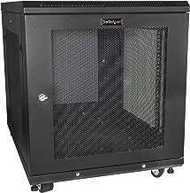 StarTech.com Server Rack Cabinet – 12U – 31in Deep Enclosure – Network Cabinet – Rack Enclosure Server Cabinet – Data Cabinet (RK1233BKM)