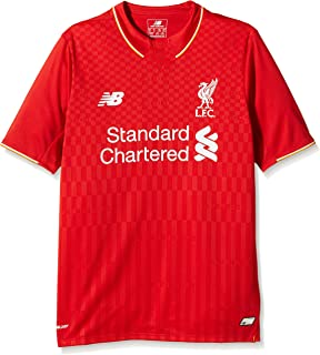 New Balance Kid's Liverpool Home Soccer Jersey 2015/2016 (Red) Youth Large