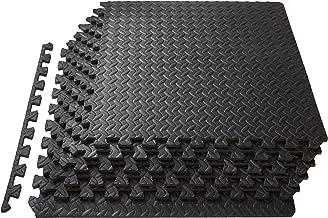 ProsourceFit Puzzle Exercise Mat, EVA Foam Interlocking Tiles, Protective Flooring for..