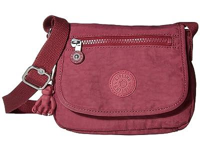 Kipling Sabian Crossbody Mini Bag (Fig Purple) Handbags