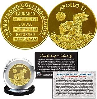 Apollo 11 50th Anniversay Commemorative NASA Space Medallion 1.25