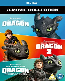 How to Train Your Dragon - 3 Movie Collection 2019 Region Free