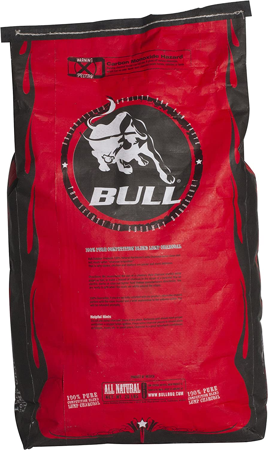 BULL Outdoor Products 100% Pure Charcoal Lump 未使用品 贈答品 Competition Blend