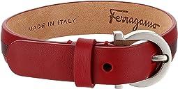 Salvatore Ferragamo Bicolor Gancini Bracelet