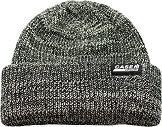 Heathered Black Woven Label Knit Cap - Officially Licensed