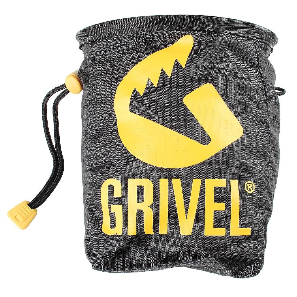 付添人乳起きてGrivel(グリベル) チョークバッグ ブラック BK