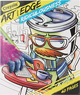 CRAYOLA 04-0033 Art With Edge,Ridiculousness Book, For Kids, For