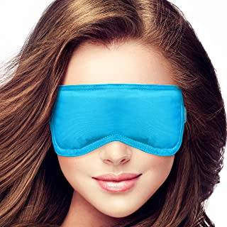 Microwavable Warm Compress for Dry Eyes by Pliae - Moist Heat Eye Mask for Pink, Puffy Eyes, MGD Aid, Blepharitis Treatment, Stye Remedy, Relief of Chalazion | Hot Therapy | Reusable, hygienic Pads