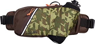CamelBak Podium Flow Bike Hydration Belt - Easy Access Bottle Pocket - Podium Dirt Series Bottle - Adjustable Waist Buckle - Secure Zipper Pocket - Riding Belt - 21 Ounce