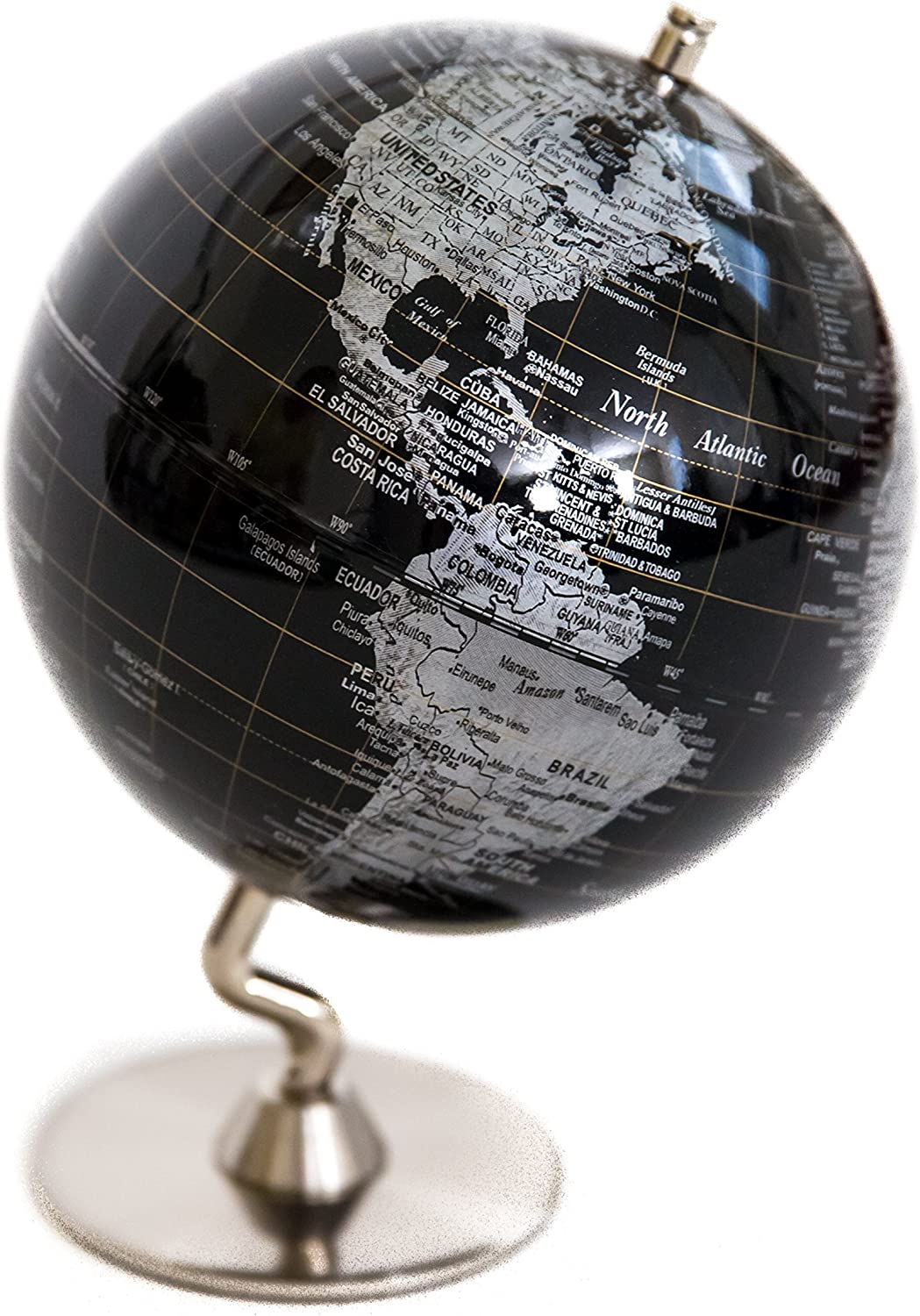 Black Sliver Globe of The OFFicial Ranking TOP7 site World 5