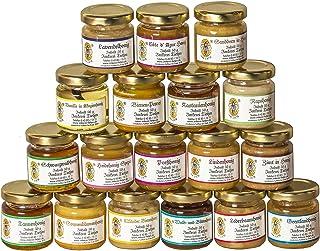 18x 50g Honig Probierset | Geschenkset – naturbelassen, Honig zum Kennenlernen, Kombination variiert von Imkerei Nordheide