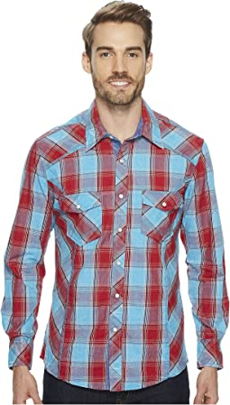 Rock and Roll Cowboy - Long Sleeve Snap B2S4113