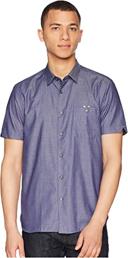 Eligant Short Sleeve Denim Woven Shirt