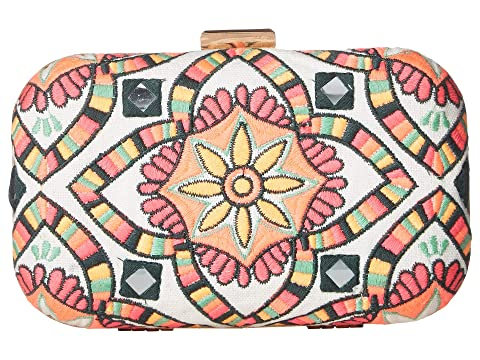 Calle Clutch, Multi Embroidery