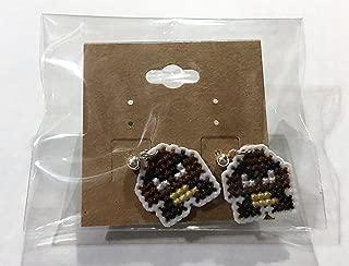 Goomba Cross Stitched Stud Earrings
