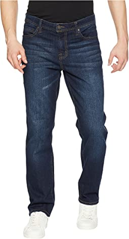Liverpool - Relaxed Straight Stretch Denim in San Ardo Vintage Dark