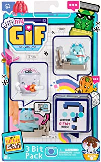 OH! MY GIF , Typing Away Catly Pack - Includes 3 Funny GIFS Brought to Life, Multicolor