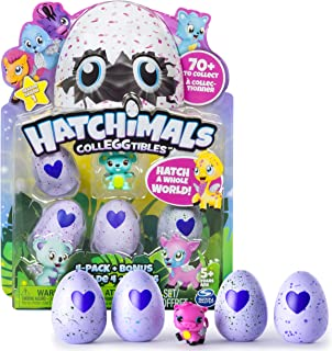 (1, Original Packaging) - Hatchimals Colleggtibles 4 pack + Bonus Character