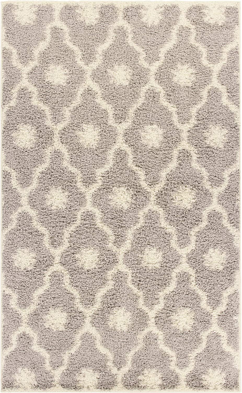Boston Mall SUPERIOR Tufted Shag Special price Modern Plush Indoor Rug Trellis Collection