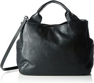 Women's Talara Star Top-Handle Bag, Black (Black Leather), 17x32x26 Centimeters (B x H x T)