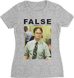 False Dwight Schrute The Office T-Shirt (Women)