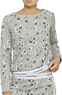 Calvin Klein Women's Modern Cotton Loungewear Sweatshirt
