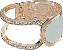 GUESS Hinged Logo Cuff Bracelet