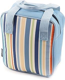 Greenfield Collection Bolso Nevera Tote de 5L, Azul CB009H-Bolso de 5 L, Color, Blue, 27.5x23x10 cm