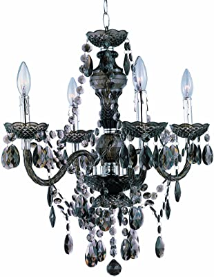 Amazon.com: Chandeliers 4 Light Bulb Fixture with Chrome ...
