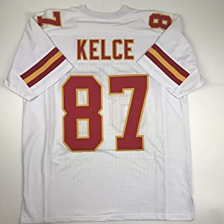 Unsigned Travis Kelce Kansas City White Custom Stitched Football Jersey Size Men's XL New No Brands/Logos